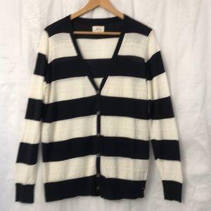 Levi's Lightweight Knit Striped Cardigan